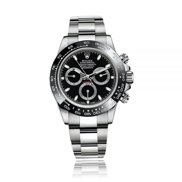 Rolex Cosmograph Daytona Steel and Black Watch 116500LN