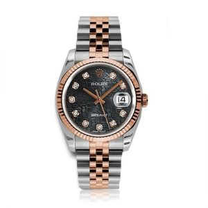 Rolex Datejust Black Jub/Diamond Jubilee Watch 116231