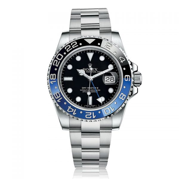 Rolex GMT-Master II Steel Black and Blue Watch 116710BLNR
