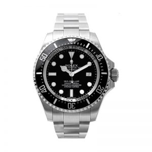 Rolex Sea-Dweller Deepsea Black Dial Oyster Watch 116660