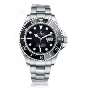 "Rolex Sea-Dweller 4000 Black/Index Oyster Watch 126600 ""Red Writing"" Rolex Sea-Dweller 4000 Black/Index Oyster Watch 126600 ""Red Writing"""