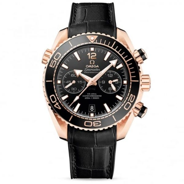 Omega Seamaster Planet Ocean 600m Black/18ct Sedna Gold Dial Watch