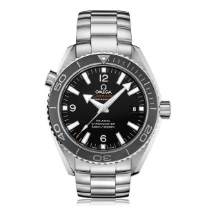 Omega Seamaster Planet Ocean 42mm Black Dial Bracelet Watch
