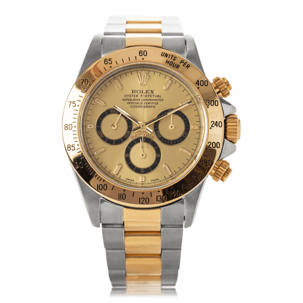 Rolex Cosmograph Daytona Steel And Gold Mens Watch