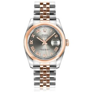 Rolex Datejust Steel Roman Jubilee Watch 116201