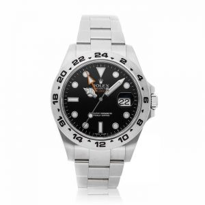 Rolex Explorer II Black Dial Watch 216570
