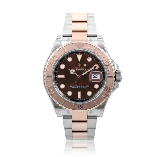Rolex Yacht-Master Rose Gold and Steel Men's Watch 116621